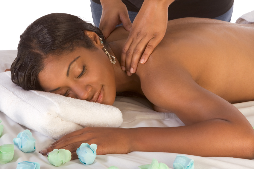 Image result for woman giving massage